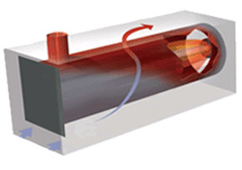 blast-tube